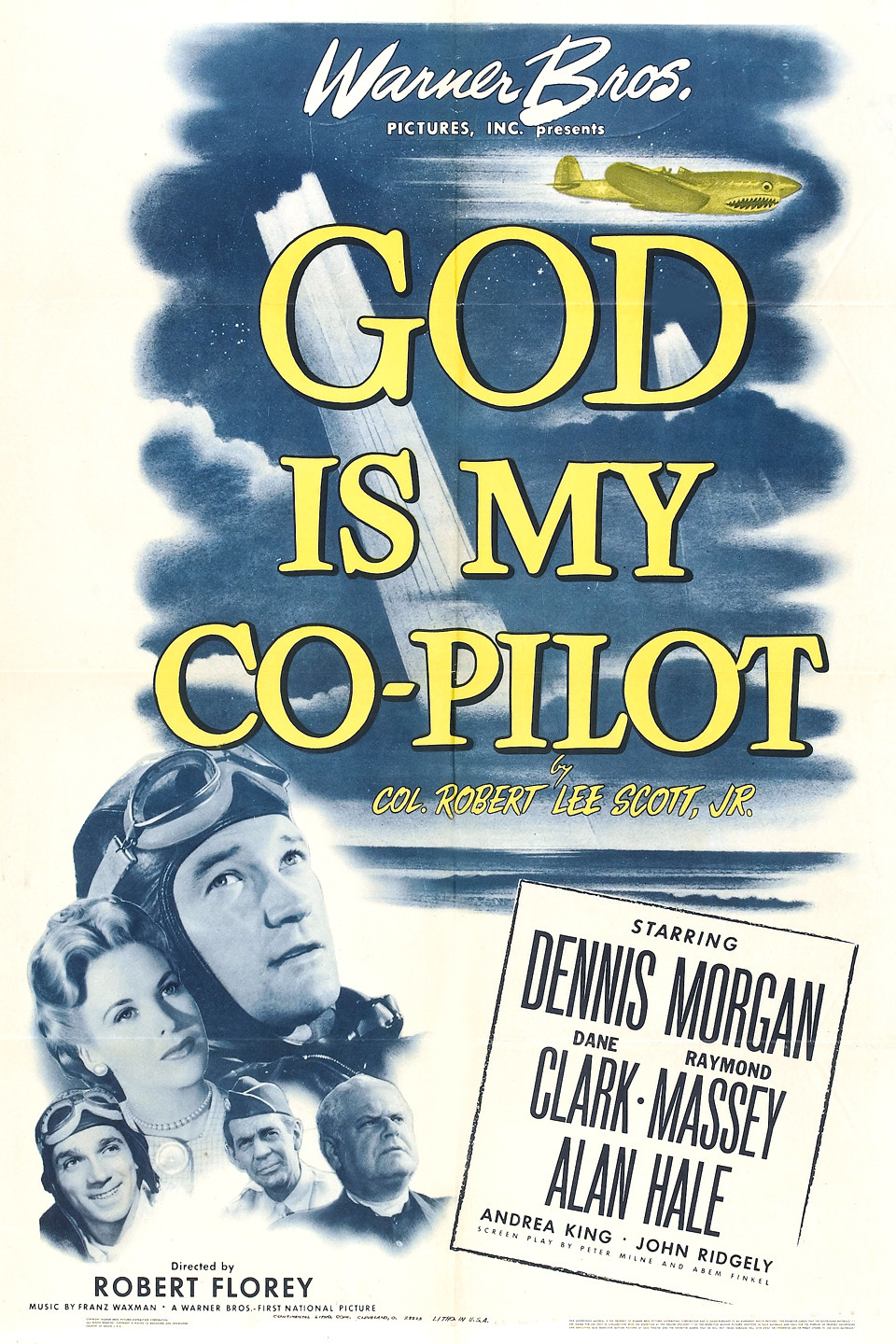 God Is My Co Pilot 1945 Air Force Movies