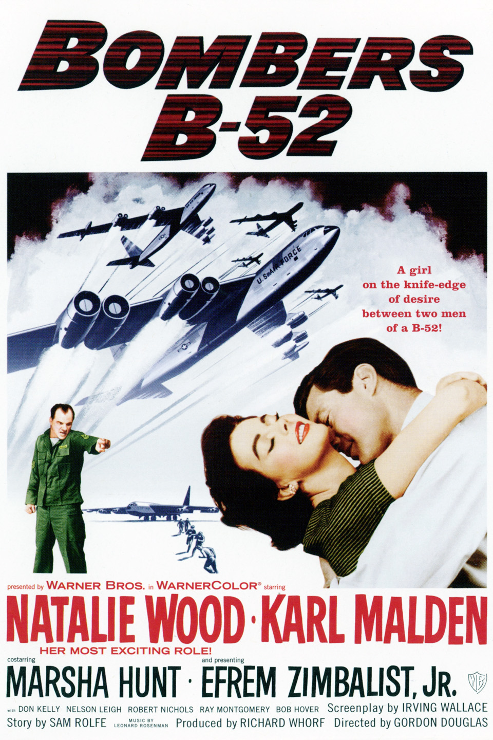 Bombers b 52 1957 air force movies for Poster giganti
